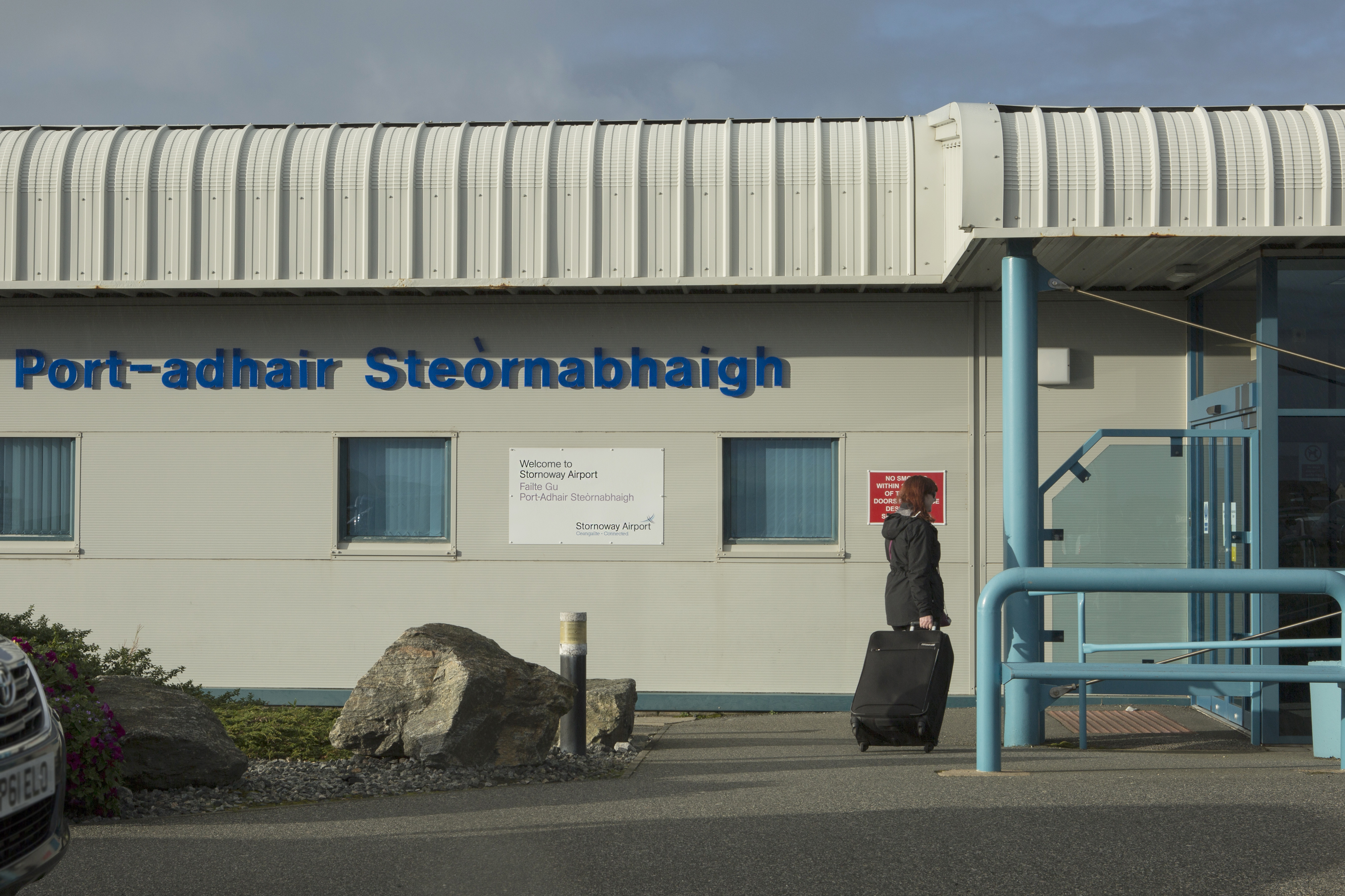 External photo of Stornoway Airport